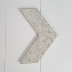 Distressed Wall Arrow - Foundations Decor found on Bargain Bro India from A Cherry On Top Crafts for $8.63