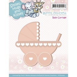 Baby Carriage - Find It Trading Yvonne Creations Smiles, Hugs & Kisses Die