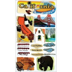 California - Jolee's Boutique Dimensional Stickers found on Bargain Bro India from A Cherry On Top Crafts for $5.89