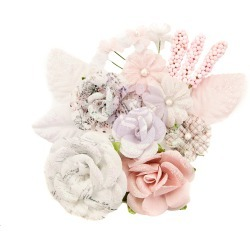 Fragrant Symphony Flowers - Lavender Frost - Prima found on Bargain Bro India from A Cherry On Top Crafts for $5.99