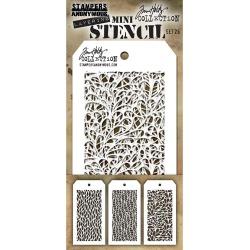 Tim Holtz Mini Layered Stencil Set #26