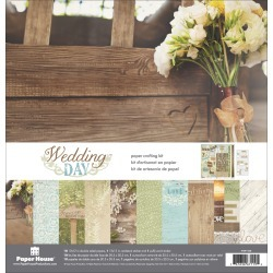 Wedding Day - Paper House Paper Crafting Kit 12