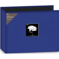 Blue Fabric 3-Ring Binder 12 x 12 Album