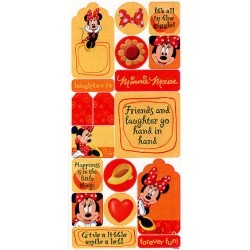 Minnie Matte Stickers - Sandylion found on Bargain Bro Philippines from A Cherry On Top Crafts for $1.45