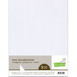 White Woodgrain Cardstock - Lawn Fawn found on Bargain Bro India from A Cherry On Top Crafts for $7.99