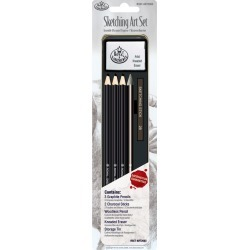 Sketching Art Set W/Tin found on Bargain Bro India from A Cherry On Top Crafts for $5.69