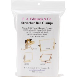 Clamp Converts Stitch Stands To Frames For Stretcher Bars-