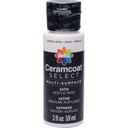 White - Ceramcoat Select Multi-Surface Paint 2oz