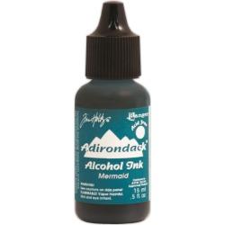 Mermaid - Adirondack Lights Alcohol Ink