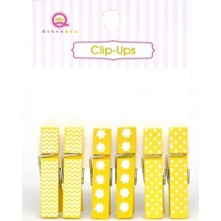 Yellow Clip Ups - Queen & Co