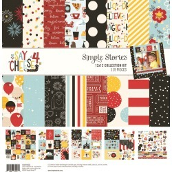 Say Cheese 4 Collection Kit - Simple Stories found on Bargain Bro India from A Cherry On Top Crafts for $14.99