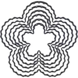 Blossom - Fondant Double Cutters 6pc Set