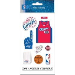 Los Angeles Clippers NBA Stickers