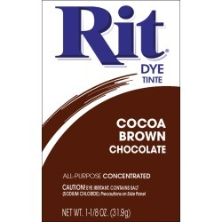 Cocoa Brown - Rit Dye Powder