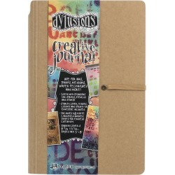 5 inches X8 inches  - Dylusions Dyan Reaveley's Creative Journal found on Bargain Bro India from A Cherry On Top Crafts for $14.99