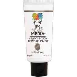 Medieval - Dina Wakley Media Heavy Body Metallic Acrylic Paint