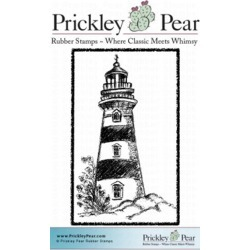 Lighthouse - Prickley Pear Cling Stamps 2.25