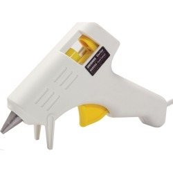 White - Low-Temp Mini Glue Gun found on Bargain Bro India from A Cherry On Top Crafts for $6.29