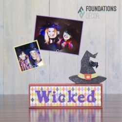 Witch Picture Holder Complete Set - Foundations Decor found on Bargain Bro India from A Cherry On Top Crafts for $14.39