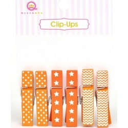 Orange Clip Ups - Queen & Co