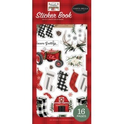 Farmhouse Christmas Sticker Book - Carta Bella found on Bargain Bro India from A Cherry On Top Crafts for $12.99
