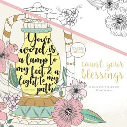 Count Your Blessings - KaiserColour Perfect Bound Coloring Book 9.75 inches X9.75 inches found on Bargain Bro India from A Cherry On Top Crafts for $10.99