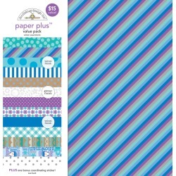 Winter Paper Plus Pack - Doodlebug