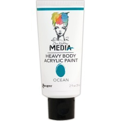 Ocean - Dina Wakley Media Heavy Body Acrylic Paint 2oz