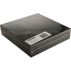Black - Medium Weight Chipboard Sheets 6 inches X6 inches  25/Pkg