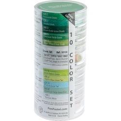 Greens - PanPastel Ultra Soft Artist Pastel Set 9ml 10/Pkg
