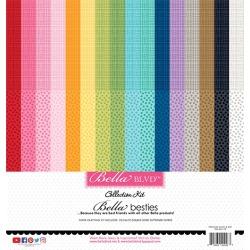 Graph & Dot Rainbow Bella Besties Paper Pack - Bella Blvd