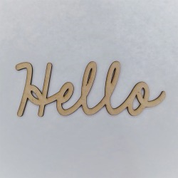 Hello Smooth Font - Foundations Decor