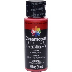 Fire Red - Ceramcoat Select Multi-Surface Paint 2oz