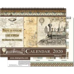 Voyages Fantastiques 2020 Calendar - Stamperia