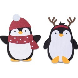 Penguin Friends - Sizzix Bigz Die - PRE ORDER found on Bargain Bro India from A Cherry On Top Crafts for $19.99