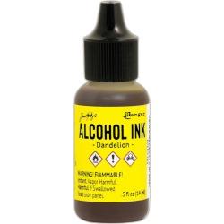 Dandelion Alcohol Ink - Tim Holtz