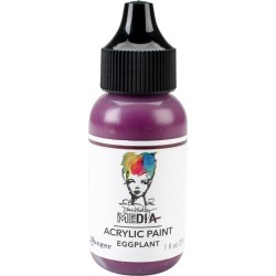 Eggplant Dina Wakley Media Acrylic Paint