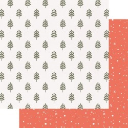 Woodland Paper - Home For Christmas - Fancy Pants