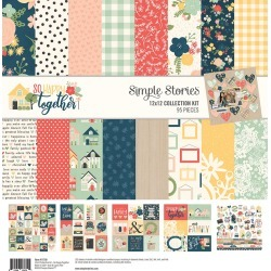 So Happy Together Collection Kit - Simple Stories