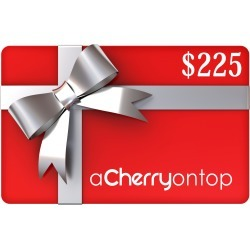 Gift Card $225 found on Bargain Bro India from A Cherry On Top Crafts for $225.00