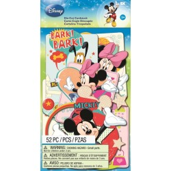 Mickey Family Die - cut Cardstock Pieces