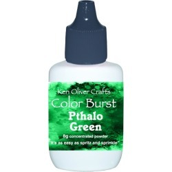 Pthalo Green Color Burst Powder - Ken Oliver found on Bargain Bro India from A Cherry On Top Crafts for $5.79