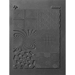 Illusionary - Lisa Pavelka Individual Texture Stamp 4.25 inches X5.5 inches  1/Pkg found on Bargain Bro from A Cherry On Top Crafts for USD $7.59