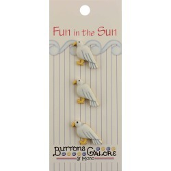 Seagull - Fun In The Sun Buttons found on Bargain Bro India from A Cherry On Top Crafts for $2.29