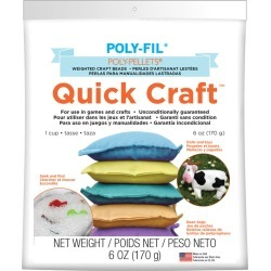 6oz - Quick Craft Weighted Poly-Pellets found on Bargain Bro India from A Cherry On Top Crafts for $7.19