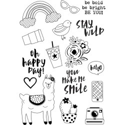 Be You! Clear Stamps - Oh Happy Day - Simple Stories