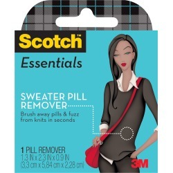 1/Pkg - Scotch Essentials Sweater Pill Remover