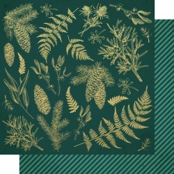 Emerald Leaves Paper - Emerald Eve - KaiserCraft found on Bargain Bro India from A Cherry On Top Crafts for $1.99