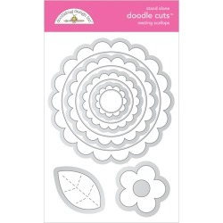 Nesting Scallops Doodle Cut Dies - Doodlebug found on Bargain Bro India from A Cherry On Top Crafts for $24.99