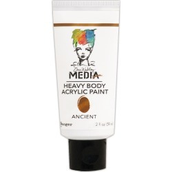 Ancient - Dina Wakley Media Heavy Body Metallic Acrylic Paint